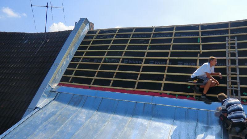 Dachsanierung-Dachdecker