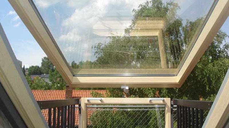 Wohndachfenster-Dachdecker